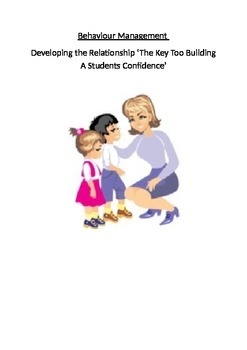 Behavior Management: Disengaged Students And Building The Relationship