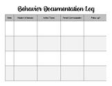 Behavior Management Document