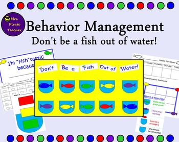 Behavior Management- Don't be a fish out of water!