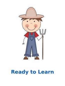 Behavior Management Farm Theme
