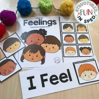 Behavior Management: Feelings Kit for Preschool, Pre-K, Special Needs