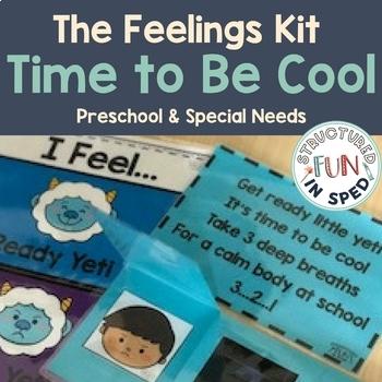 Behavior Management: Feelings Kit for Special Education Preschool