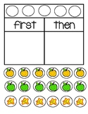 First Then Boards and Tokens - Behavior Management