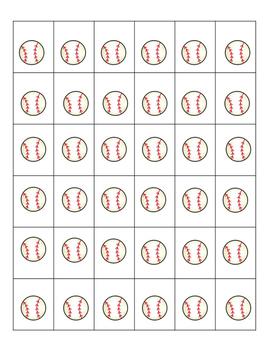 Behavior Management: I working for....Baseball theme