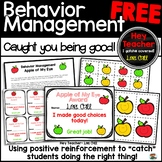 "Behavior Management Incentive Free ""Caught You Being Good!"""