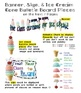 Behavior Management Kit - Ice Cream Cone Theme (Banner, Bu