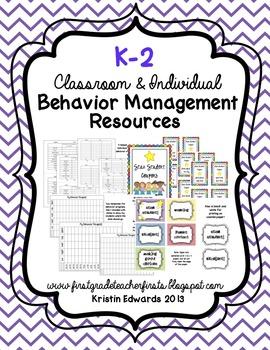 Behavior Management Kit {k-2!}
