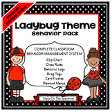 Clip Chart ★ Behavior Management ★ Ladybug Theme Behavior