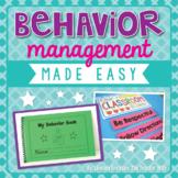 Behavior Management Made Easy!