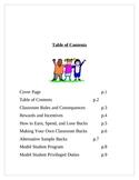 Behavior Management / Model Student Program