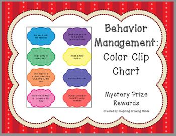 Behavior Management Mystery Rewards