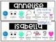 Behavior Management Name Tags