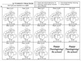 Behavior Management November -- Turkey Tracker