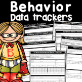 Behavior Management Observation Data Trackers