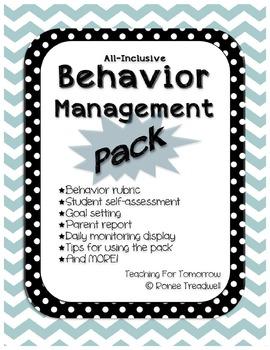 Behavior Management Pack