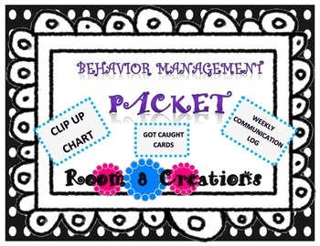 Behavior Management Pack-Polka Dot Design