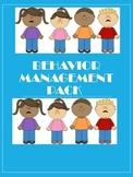 Behavior Management Pack - Reflection Sheets, Rewards, and