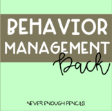 Behavior Management Pack