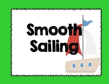 Behavior Management Packet (Nautical Theme)