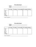 Behavior Management Parent Signature Form