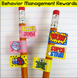 Rewards - Behavior Management Pencil Stickers with Motivat