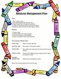 Behavior Management Plan