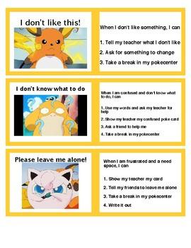 Behavior Management Plan- Pokemon