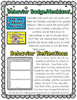 Behavior Intervention Plans, Charts, Ideas, and Incentives