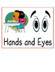 Behavior Management Poster- Hands and Eyes