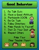 FREE Classroom Management Poster and Contract