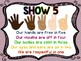Classroom Management Posters for the Classroom (Bright Theme)