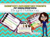 Classroom Management Rules Posters (Bright Theme)