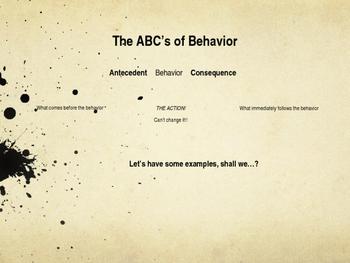 Behavior Management Presentation