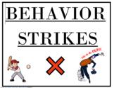 Behavior Management - Printable/Editable Board Labels