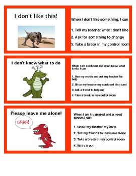 Behavior Management Program- Dinosaur