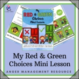 Behavior Management Red and Green Choices - Preschool, Pre-K Kindness