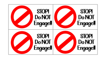 Behavior Management Reminder Cards