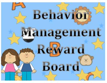 Behavior Management Reward Board