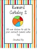Behavior Management Reward Catalog II