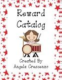 Behavior Management Reward Catalog & Punch Cards Music Kids Theme