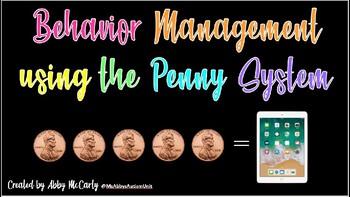 Behavior Management Reward System