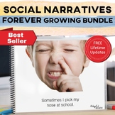 Social Narratives FOREVER Growing Bundle: Behavior Management Stories