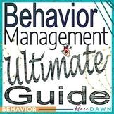 Behavior Management Ultimate Guide - School Rules - Behavior Charts & Printables