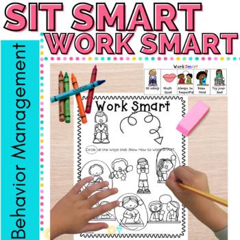 Behavior Management Sit Smart Anchor Charts & a Few Other Goodies