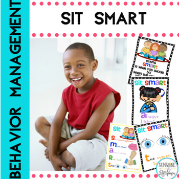 Behavior Management Sit Smart Anchor Charts & a Few Other Goodies