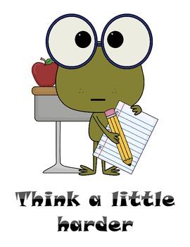 Behavior Management Frog Theme