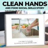 Behavior Management Social Story Washing My Hands Before Cooking