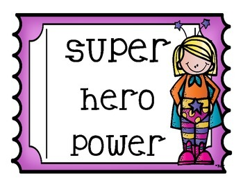 Behavior Management-Superhero