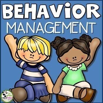 Behavior Management Supplement Packet for Clip Chart