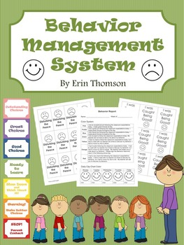 Behavior Management System (editable)